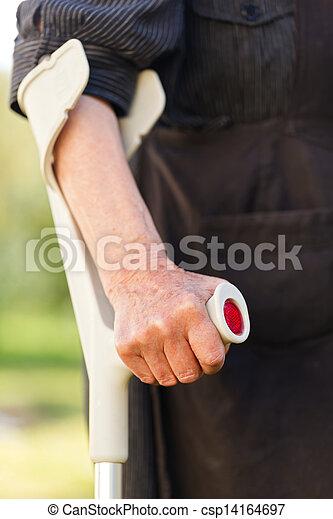 Elderly woman - csp14164697