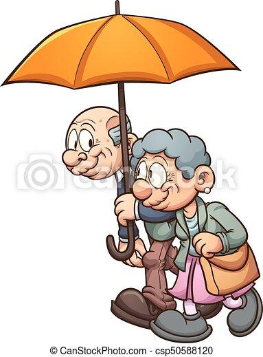Eldery couple - csp50588120