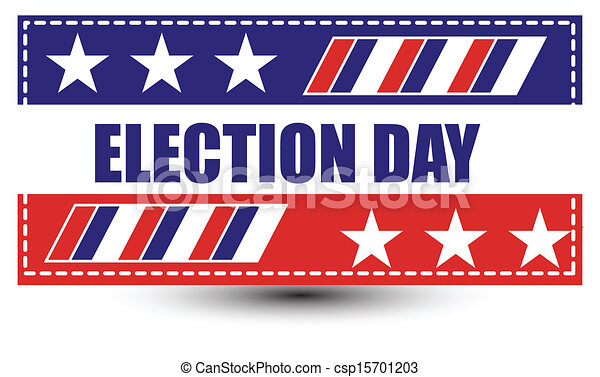election day background - csp15701203