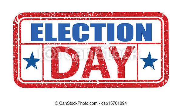 election day grunge stamp vector rh canstockphoto com Veterans Day Clip Art election day 2017 clip art