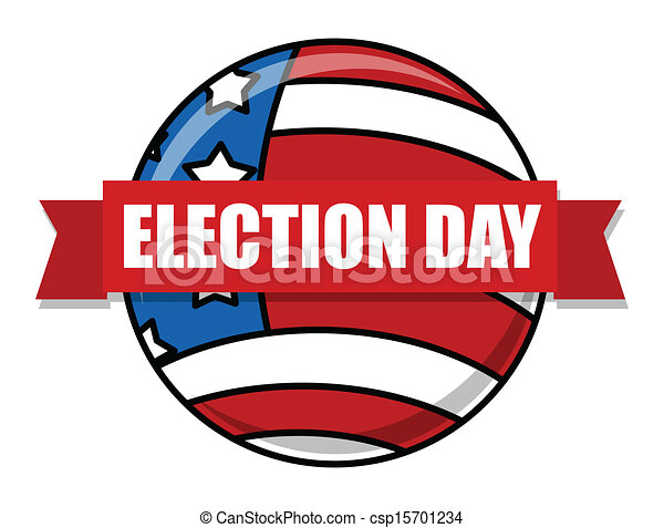election day vector illustration vectors search clip art rh canstockphoto com election day clip art free election day clipart 2016