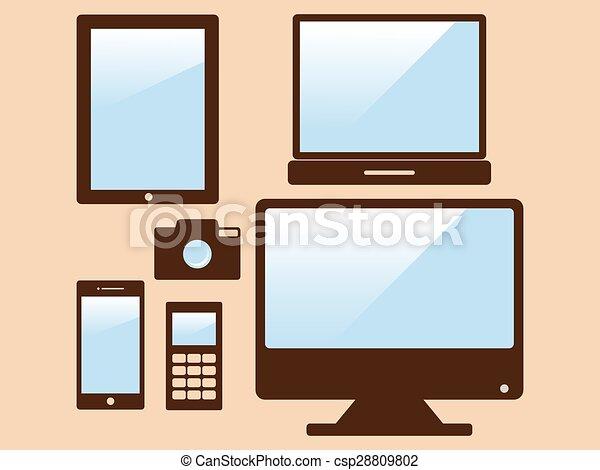 Dispositivos electrónicos - csp28809802