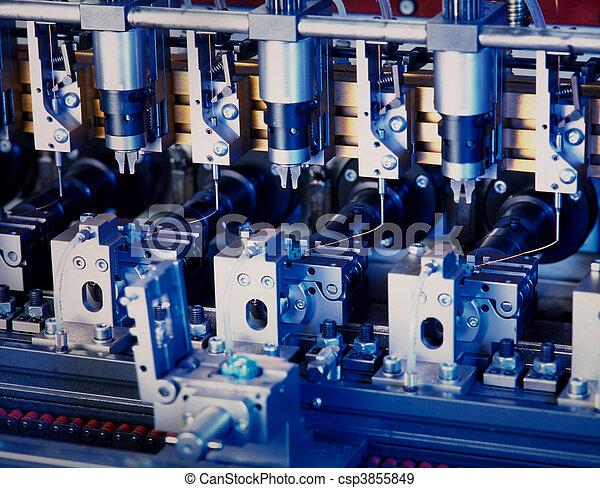 Producción de componentes electrónicos - csp3855849