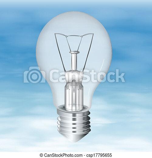 Electric Bulb - csp17795655