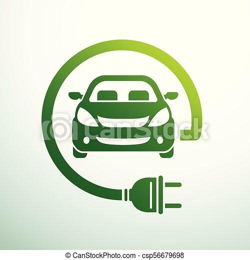 Electric car - csp56679698