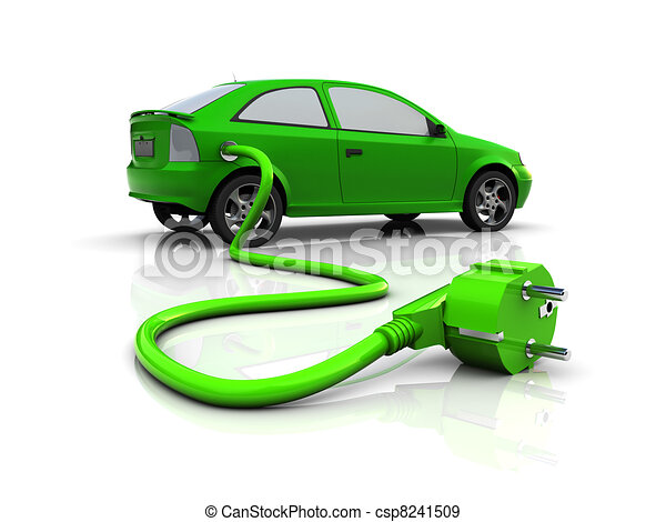 electric car - csp8241509
