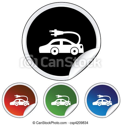 Electric Car - csp4209834