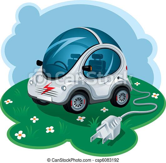 Electric Car - csp6083192