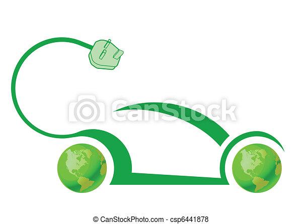 Electric car technology  - csp6441878