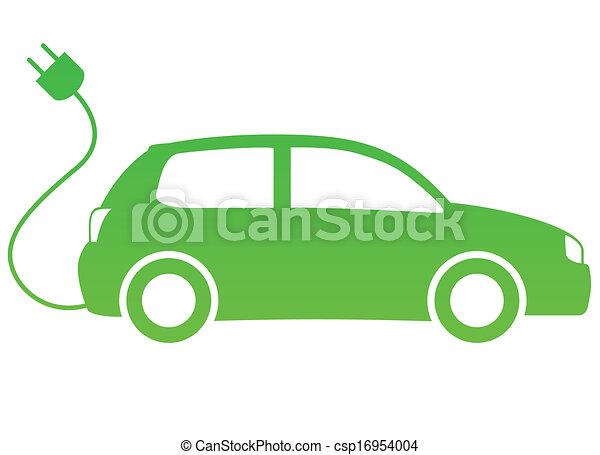 electric car - csp16954004