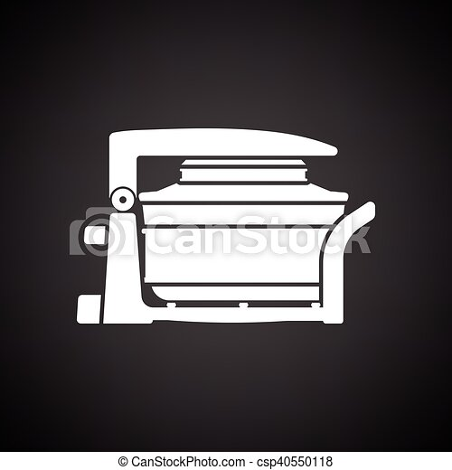 Electric convection oven icon - csp40550118