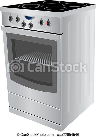 Electric cooker oven - csp22654546