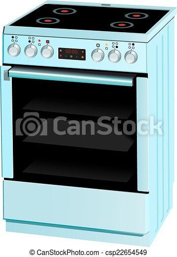 Electric cooker oven - csp22654549