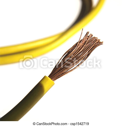 Unique Copper Electrical Wire Clip Art Composition - Simple Wiring ...