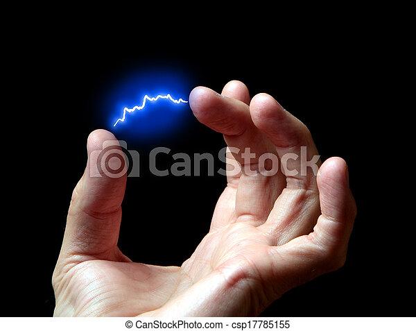 electric discharge - csp17785155
