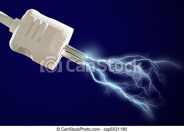 Electric discharge. - csp5531180
