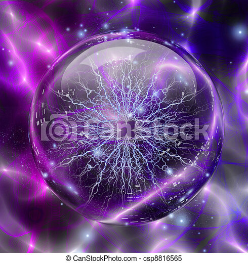 Electric enclosed in sphere - csp8816565