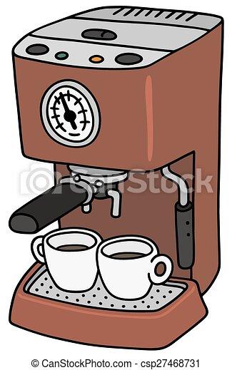 Electric espresso maker - csp27468731