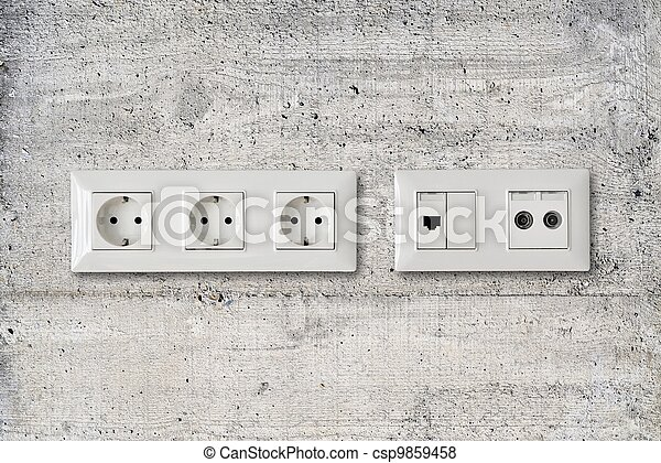electric ethernet antenna socket - csp9859458
