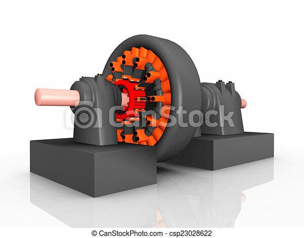 Electric Generator - csp23028622