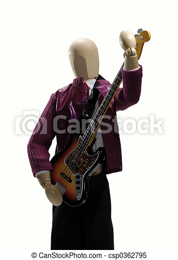Electric Guitar - csp0362795