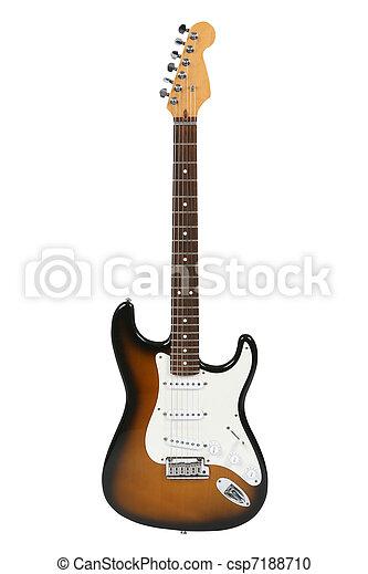 Electric Guitar (Sunburst Fender Stratocaster) - csp7188710