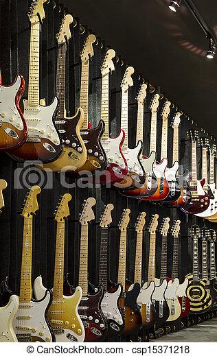 Electric Guitars - csp15371218