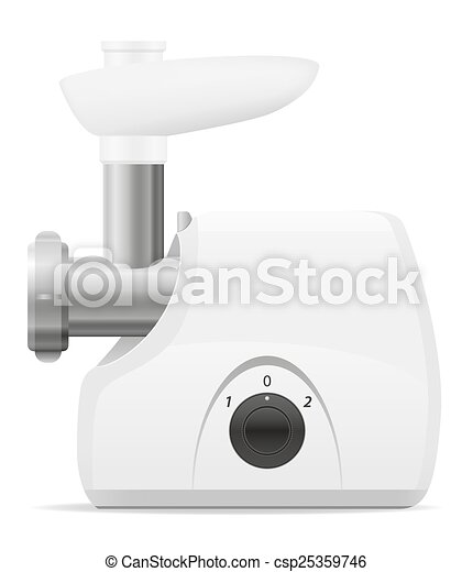Electric Kitchen Grinder Vector