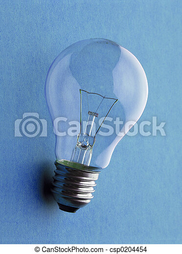 Electric light bulb - Glühbirne - csp0204454
