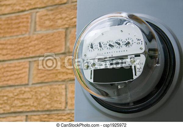 Electric Meter - csp1925972