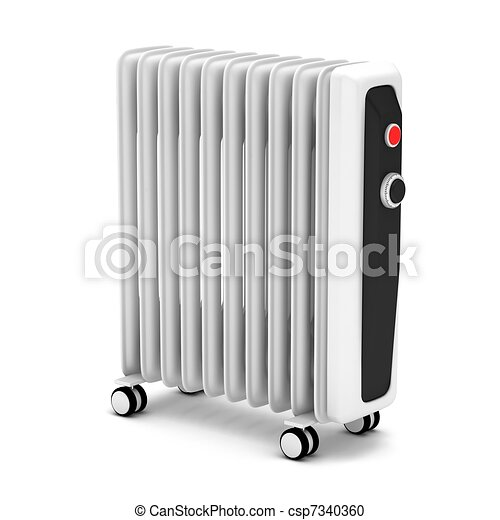 Electric oil heater - csp7340360