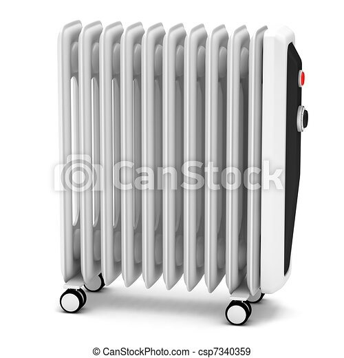 Electric oil heater - csp7340359