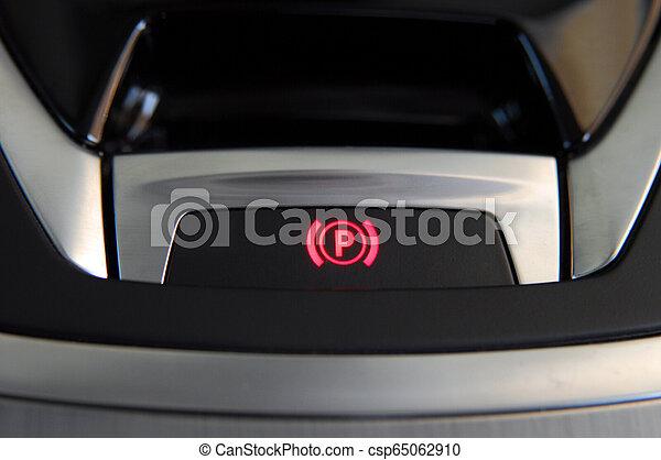 Electric parkbrake button - csp65062910