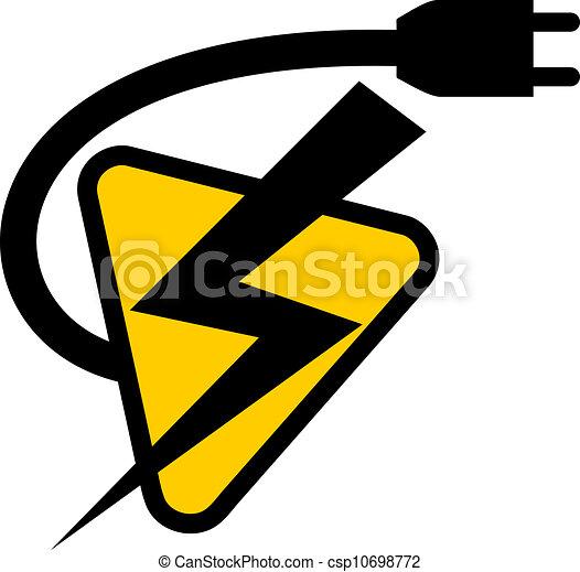 Electric symbol - csp10698772