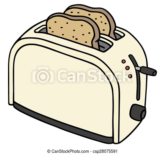 Electric toaster - csp28075591