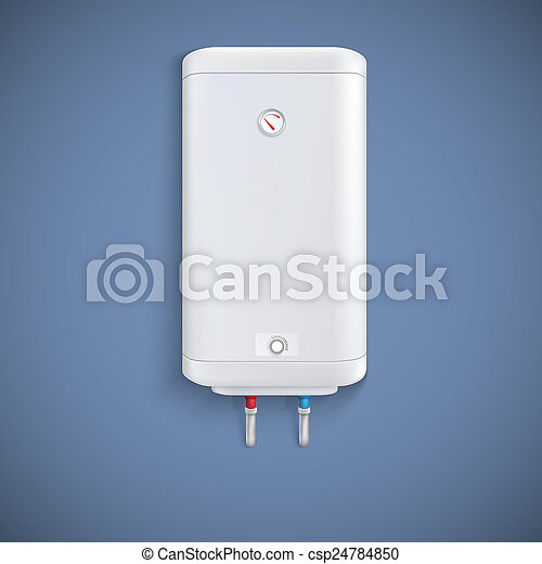 Electric water heater. - csp24784850