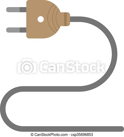 Electric Wire Cable Wires Wiring Icon Vector Image Can Also Be Used For Tools Suitable For Use On Web Apps Mobile Apps