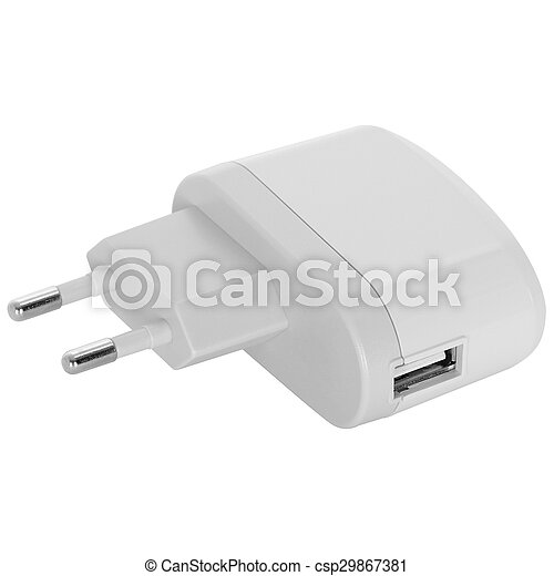 Electrical adapter to USB port - csp29867381