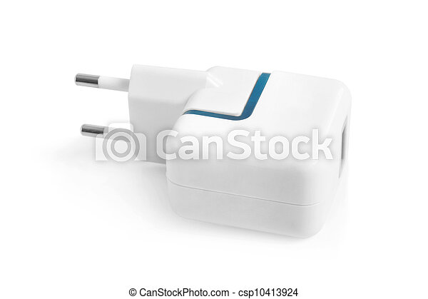 Electrical adapter to USB port  - csp10413924