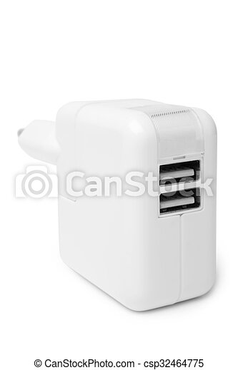 Electrical adapter to USB ports - csp32464775