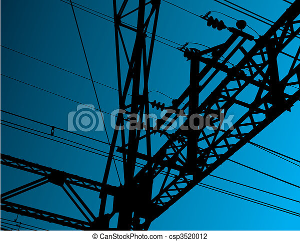 Electrical background - csp3520012