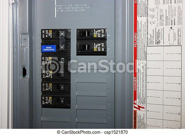 Electrical circuit breaker . - csp1521870