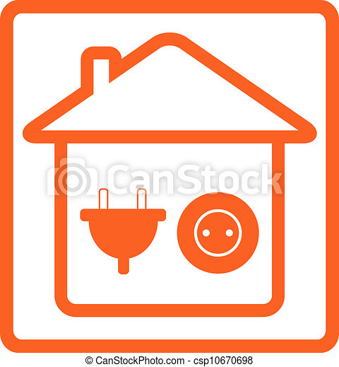 yellow sign wiring with electrical equipment for house rh canstockphoto com home wiring color codes house wiring color code