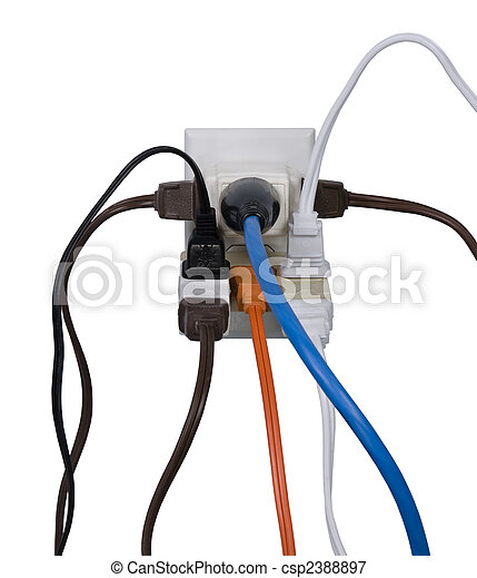 Electrical overload - csp2388897