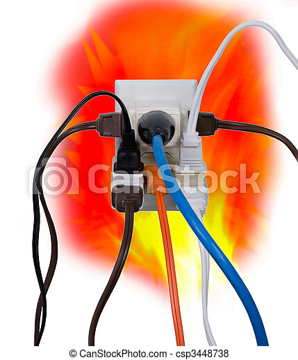 Electrical overload - csp3448738