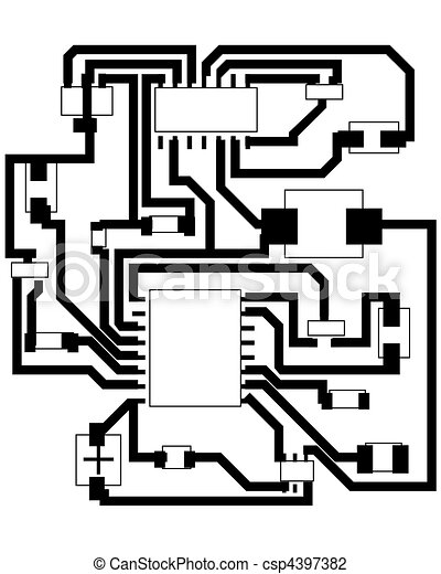 Electrical scheme. Electric scheme for design use. vector illustration.