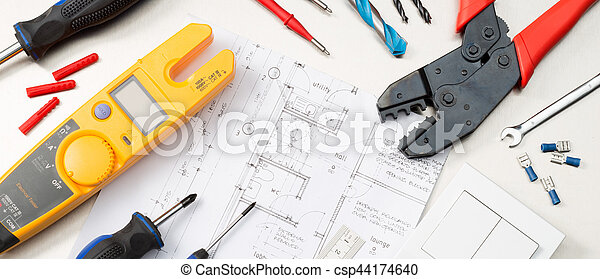 Electrical tools and components website banner format shot of an electrical tools and components csp44174640 ccuart Image collections