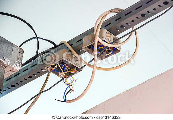 Astounding Electrical Wiring With Exposed Wires Code Violation Wiring Cloud Hisonuggs Outletorg
