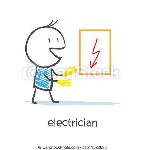 Electrician - csp11522638