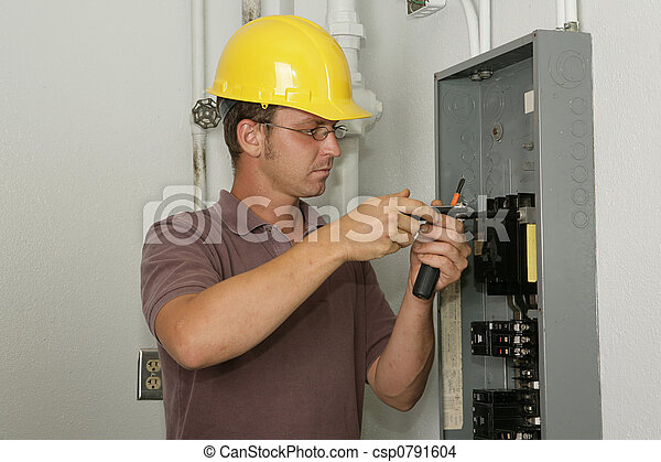 Electrician Industrial Panel - csp0791604